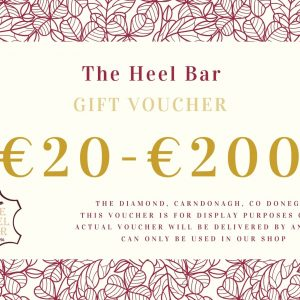 The heel bar gift voucher